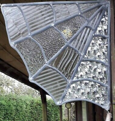 Stained Glass Spider Web • 15£
