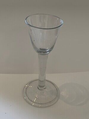 Antique Georgian Folded Foot Drinking Port Sherry Liquer Glass C1790 Pontil  • 22£