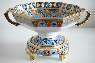 Noritake Nipponware Gilded Bowl & Stand Table Centre - Early Twentieth Century • 175£