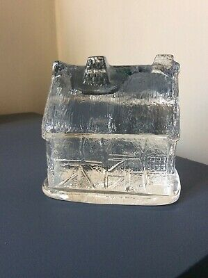 Torrington Crystal England Glass House Ornament Sculpture VGC • 4.99£