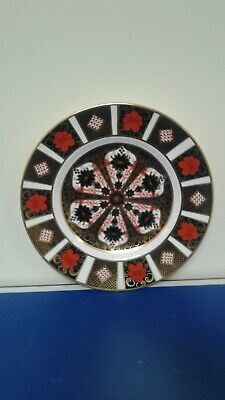 Royal Crown Derby 1128 Imari Pattern Cabinet Plate Excellent See Pictures • 50£