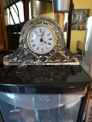 Quality Tyrone Crystal Working Mantle Clock • 35£