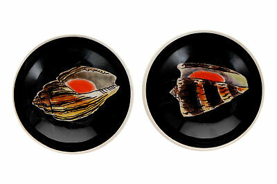 2 X 1950's Guy Trevoux Bowls Quimper French Pottery Nautical Design • 35£