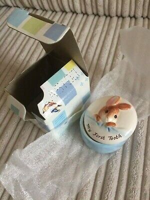 Border Fine Arts  Peter Rabbit     My First Tooth Box   • 15£