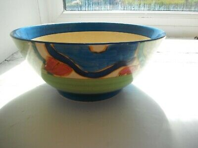 Clarice Cliff   Fantasque   Hand Painted Bowl - Newport Pottery • 94£