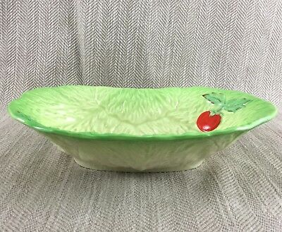 Beswick Cabbage Leaf Bowl Majolica Tomatoes Salad Serving Dish  • 34£