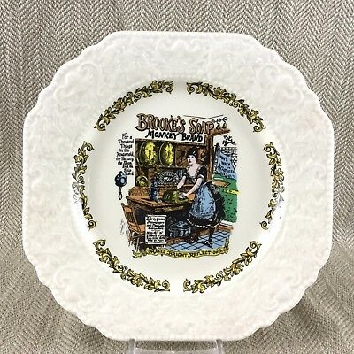 Victorian Advertising Brookes Soap Advert Collectors Display Plate Lord Nelson  • 20£