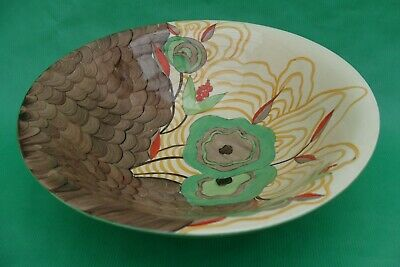 Clarice Cliff Bizarre Cabbage Flower Fruit Bowl 454. • 150£