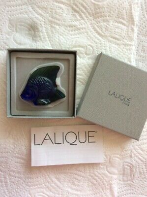 Llalique Luster Angel Fish Boxed • 55£