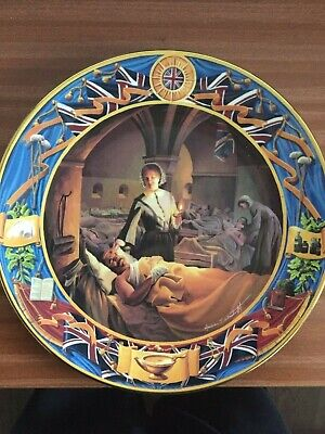 Royal Doulton Florence Nightingale At Scutari Collector Plate • 14.50£