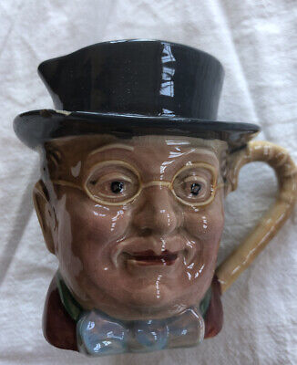 Gorgeous Vintage Beswick  Pickwick  Character / Toby Jug 1119 - Chip On Hat • 3.75£