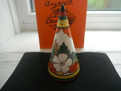 CLARICE CLIFF   LIMBERLOST   SUGAR SHAKER By WEDGWOOD -MINT & BOXED • 38£