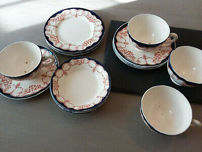 Myott And Son Tea Cups, Saucers, Side Plates Bowls Rosemary Vintage Antique • 12£