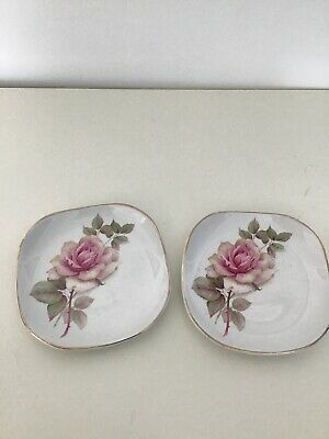 Wood & Sons Decorative Small Plates/ Dishes X2. Good. • 3.99£