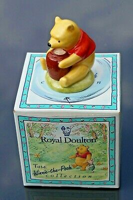 Royal Doulton Winnie The Pooh And The Honeypot Figurine Boxed • 3£