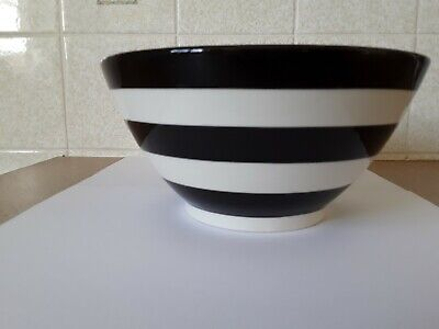 Tg Greens Black And White Bowl • 20£