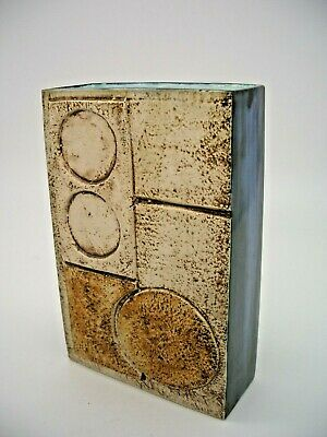 Troika Slab Vase Decorated By Marilyn Pascoe • 365£