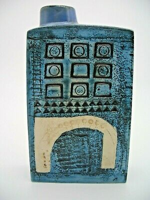 Troika Chimney Vase Decorated By Marilyn Pascoe (RARE St Ives) • 395£