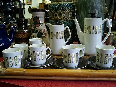 Vintage Beswick Lunar Design  Coffee Set • 50£