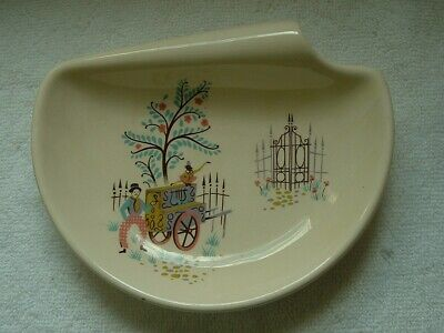 BESWICK England Dancing Days Shape 1539 Dish With Handle • 7£