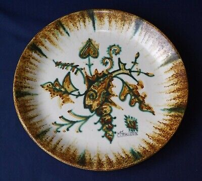 Vintage Quimper FOUILLEN - Hanging Plate - Excellent Condition ~240 Mm Hand Made • 24.95£
