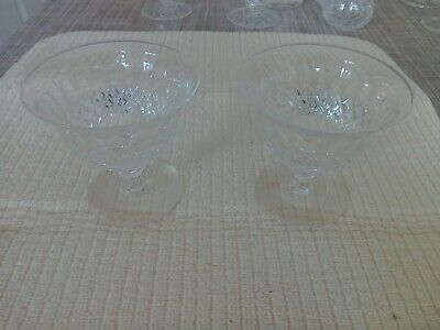 Pair Webb Possibly Cocktail Glasses  • 8£
