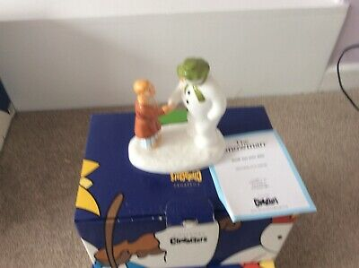 Coalport Characters The Snowman: How Do You Do. Boxed. Mint. • 16£