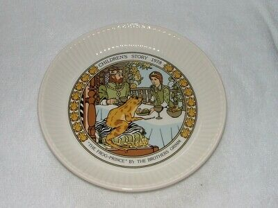 WEDGWOOD Children`s Story 1978 Frog Prince Brothers Grimm • 3.50£