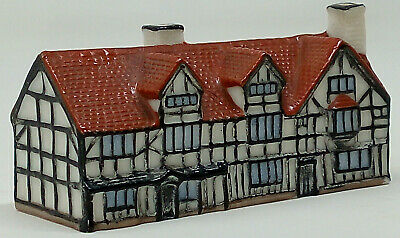 Vintage W.H. Goss Model Of Shakespeares House England 225833 • 15£