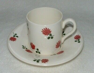 PLICHTA COFFEE CAN/SAUCER Small Size, Marks To Base Scotland London • 6£