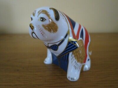 Royal Crown Derby 1st Quality Limited Edition Churchill Bulldog Paperweight • 135£
