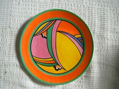 CLARICE CLIFF   JUPITER  PLATE- By WEDGWOOD - LTD EDITION • 14.90£