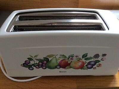 Swan 4 Slice Toaster In Johnson Brothers Fresh Fruits Design • 5.50£