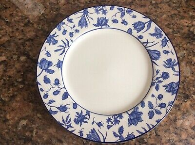"Blue And White Dinner Plates 11"" Seconds • 2.50£"