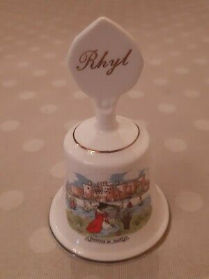 Rare And Vintage Bone China Rhyl Bell By Coronet Pottery  • 0.99£