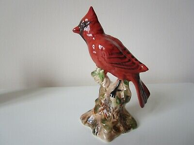 Beswick Bird, Cardinal, Red 1941 - 1959 Vintage, Collectable, Rare. • 45£
