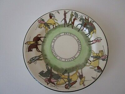 Royal Doulton Rare Bayeux Tapestry Plate D2873 'battle Of Hastings 1066  • 37.99£