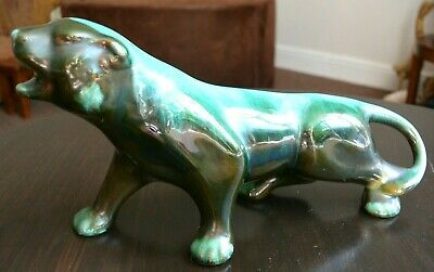Fabulous Vintage Blue Mountain Panther - Great Example - Canadian • 15£