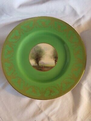 Vintage Royal Worcester Hand Painted Cabinet Plate - Signed • 19.99£