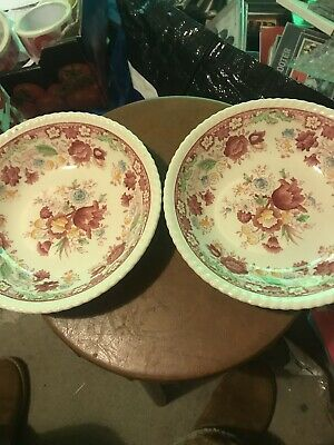 """Vintage Johnson Brothers """"WINCHESTER """" Bowls X 2 • 4.99£"""