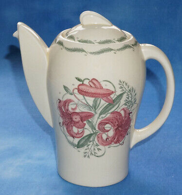 Susie Cooper Kestrel Shape Coffee Pot - TIGER LILY • 45£
