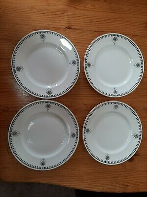 Hancocks China.. 7inch Side Plates.  Clarence Pattern. Set Of 4 • 5£