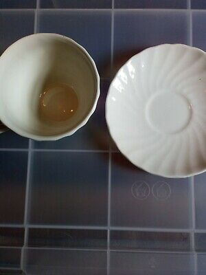 Cup And Saucer, Churchhill Pottery, Made In Staffordshire, England, • 1£