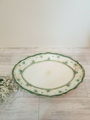 Antique John Maddock & Sons  Royal Vitreous Hamilton Large Platter • 19.99£