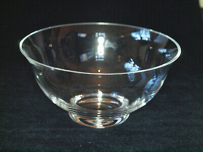 Dartington Crystal Fruit Or Salad Bowl • 40£