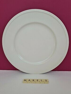 ROYAL STAFFORD ~CREAMWARE - PORTSMOUTH~  Large Round Platter 12.5  • 14.99£