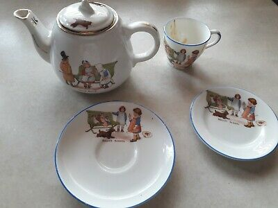 Vintage Part Nursery Set Dollys School And Dolly Doctor. Star China 1913 + • 7.50£