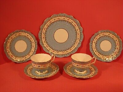 Aynsley Pattern 2419 Cups, Saucers And Plates   • 24£