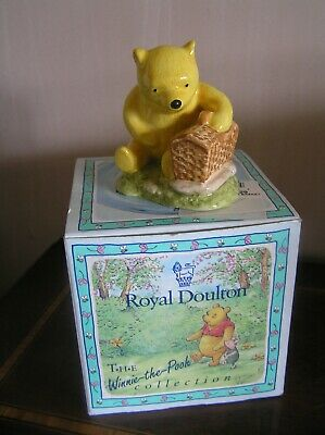 Royal Doulton Winnie The Pooh And The Fair Sized Basket Original Boxed • 12£