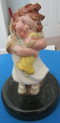 Bretby Figurine Young Child With Doll • 20.99£